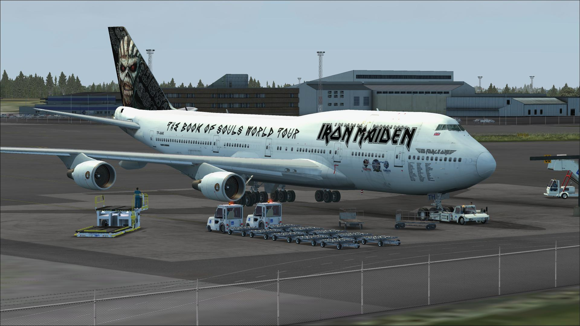 Boeing 747-400 ED FORCE ONE for Microsoft Flight Simulator X